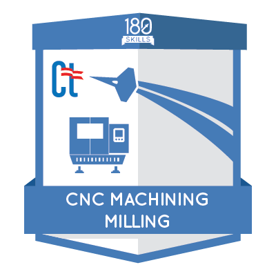 ACM CNC Milling Badge