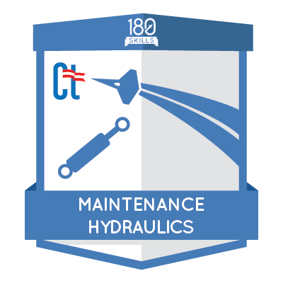 ACM Maintenance Hydraulic Badge