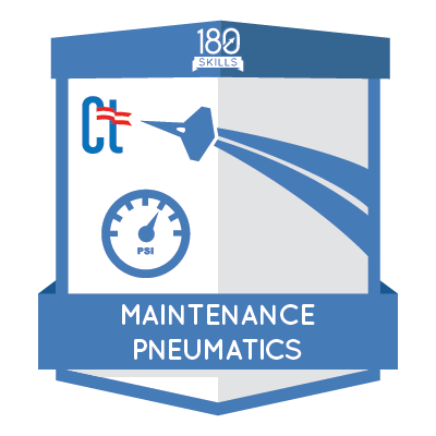 ACM Maintenance Pneumatics Badge