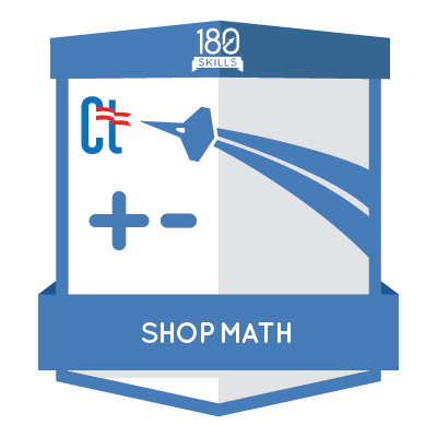 ACM Shop Math Badge
